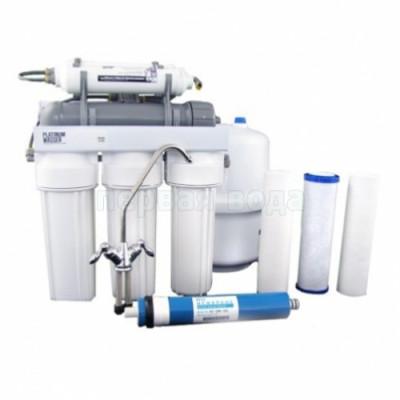 Фильтры обратного осмоса - Фильтр с обратным осмосом Platinum Wasser PLAT-F-ULTRA 7 - фото 1