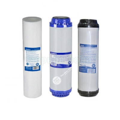 Картриджи для осмоса и проточных фильтров - Комплект картриджей №6 Aquafilter (комплексный) - фото 1