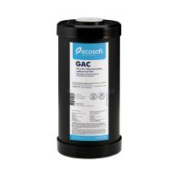 """Картридж из угля Centaur Ecosoft 4,5х10"""" для удаления сероводорода (CRVS4510ECO) (Big Blue 10)"""