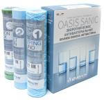 Комплект картриджей антибактериальный ATLAS FILTRI Oasis DP Sanic Set Box (LSP000005)