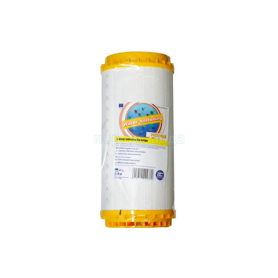 Картриджи Big Blue: 20 дюймов (51х11,5см), 10 дюймов (25х11,5см)  - Картридж умягчающий Aquafilter FCCST10BB - фото 1