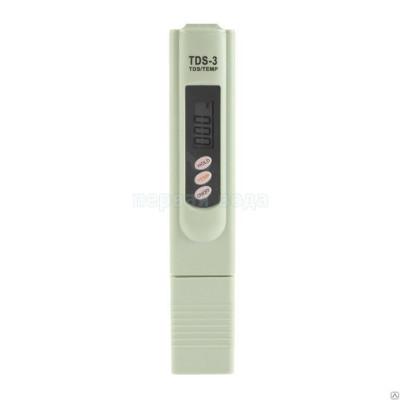 Анализатор качества воды TDS Meter-3  со встроенным термометром -