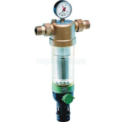 """Фильтр механический Honeywell F76S 1 1/4"""" AA (с обратной промывкой) для холодной воды - Honeywell (Германия)"""