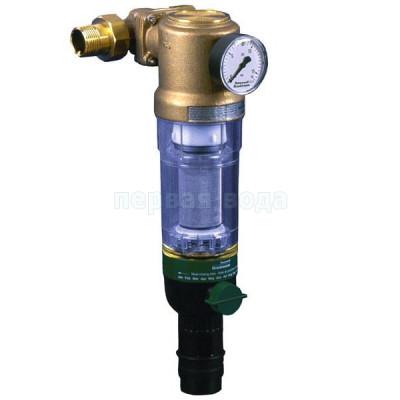 """Магистральные фильтры - Фильтр механический Honeywell F76CS-1"""" AA (с обратной промывкой и поворотным фланцем) для холодной воды - фото 1"""