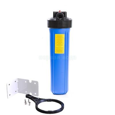 """Корпуса фильтров BIG BLUE - Фильтр Big Blue 20"""" AquaMarine Blue (без картриджа) (BB20). Механический фильтр Big Blue 20 (BB20) - фото 1"""