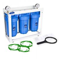 Фильтр трехколбовый Aquafilter HHBB10B Вig Blue 10