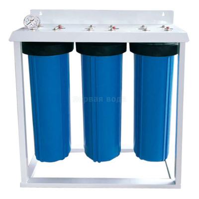 """Корпуса фильтров BIG BLUE - Фильтр BIG BLUE Bio+Systems LS3 BB 20"""" напольный - фото 1"""