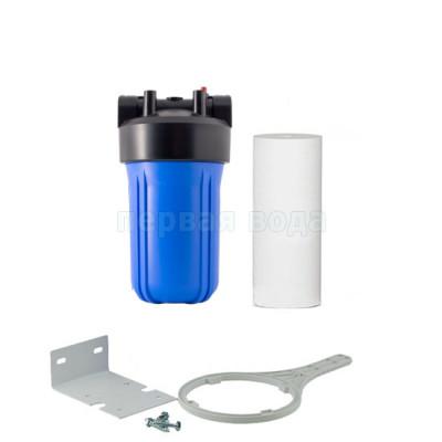 Корпуса фильтров BIG BLUE - Фильтр Organic Big Blue 10 с механическим картриджем - фото 1