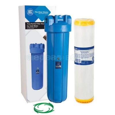 Умягчители для квартир - Фильтр Aquafilter FH20B1-B-WB+FCCFE20BB. Фильтр  - фото 1