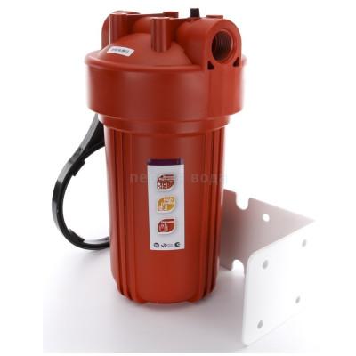 """0 - Фильтр Raifil 10"""" для горячей воды  с механическим картриджем - фото 1"""