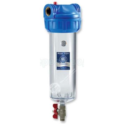 """Магистральные фильтры - Фильтр магистральный Aquafilter FHPR12-3V_R 1/2"""" - фото 1"""