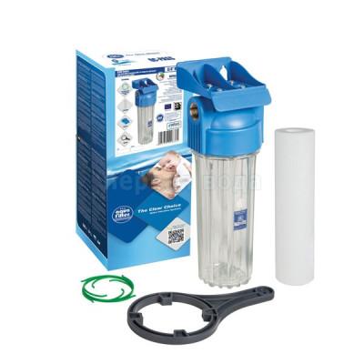 Магистральные фильтры - Фильтр магистральный двухэлементный Aquafilter FHPR34-HP1 - фото 1