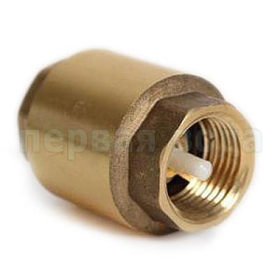 """Запасные части к гидроаккумуляторам и насосам - Клапан обратный Itap 1"""" с пластиковым штоком - фото 1"""