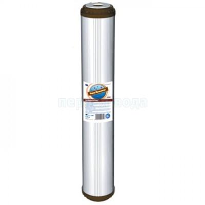 Картриджи Big Blue: 20 дюймов (51х11,5см), 10 дюймов (25х11,5см) - Картридж обезжелезивающий Aquafilter FCCFE-L (Slim) - фото 1