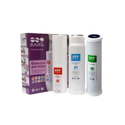 Комплект картриджей предварительной очистки Raifil - Хлор - Raifil (Южная Корея)