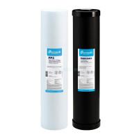 Комплект картриджей Ecosoft BB20, полипропилен+обезжелезивание (Big Blue 20)