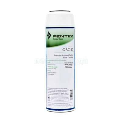 Картриджи для осмоса и проточных фильтров - Картридж угольный гранулированный Pentek GAC-10 - фото 1