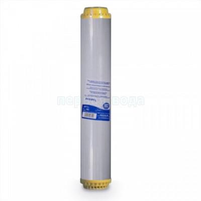 Картриджи Big Blue: 20 дюймов (51х11,5см), 10 дюймов (25х11,5см) - Картридж умягчающий Aquafilter FCCST-L (Slim)  - фото 1