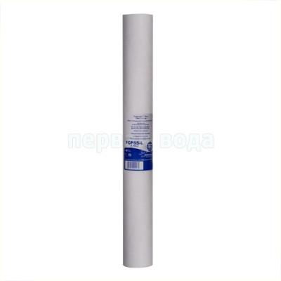 Картриджи Big Blue: 20 дюймов (51х11,5см), 10 дюймов (25х11,5см)  - Картридж полипропиленовый Aquafilter FCPS5-L, 5 мкм - фото 1