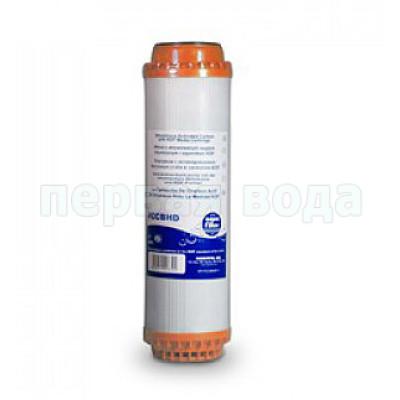 Картриджи для осмоса и проточных фильтров - Картридж из кокосового гранулированного угля Aquafilter FCCBHD - фото 1
