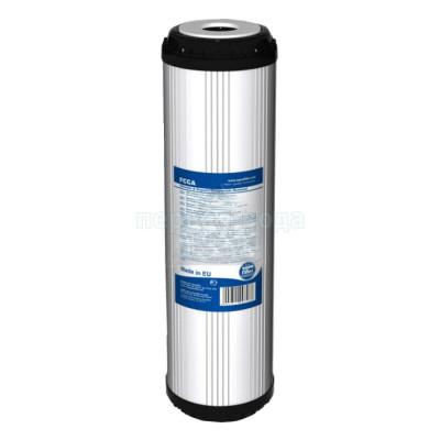 Картриджи Big Blue: 20 дюймов (51х11,5см), 10 дюймов (25х11,5см)  - Картридж из гранулированного угля Aquafilter FCCA20ВВ (+гранулы полипропилена) - фото 1