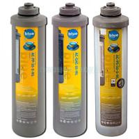 Комплект картриджей предочистки Bluefilters New Line (усиленный по мех. загрязнениям)