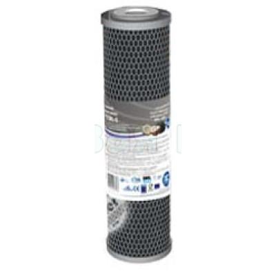 Картриджи для осмоса и проточных фильтров - Картридж из брикетированного угля Aquafilter FCCBL-Silver - фото 1