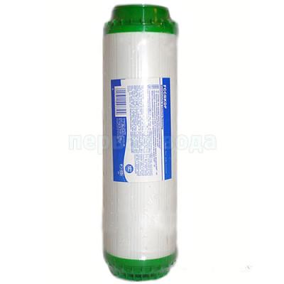 Картриджи для осмоса и проточных фильтров - Картридж с элементом KDF Aquafilter FCCBKDF - фото 1