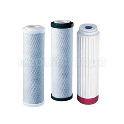 Картриджи для осмоса и проточных фильтров - Комплект картриджей В510-03-04-07 - фото 1