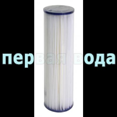Картриджи Big Blue: 20 дюймов (51х11,5см), 10 дюймов (25х11,5см)  - Картридж полиэстеровый Aquafilter FCCEL5M20BB, 5 мкм - фото 1