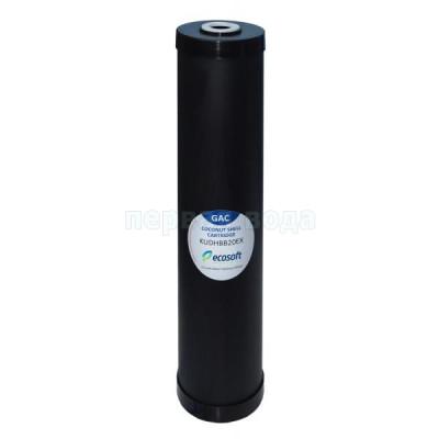 """Картриджи Big Blue: 20 дюймов (51х11,5см), 10 дюймов (25х11,5см)  - Картридж обезжелезивающий Экософт 4,5"""" х 20"""" - фото 1"""