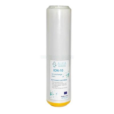 Картриджи для осмоса и проточных фильтров - Картридж умягчающий AquaMarine ION-10 - фото 1