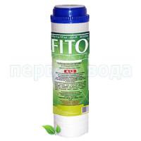 Картридж для двухступенчатой очистки из  полипропилена и ШУНГИТОВОЙ смеси FITO FILTER K - 1.2