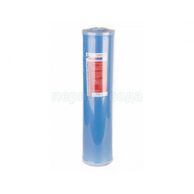 Картриджи Big Blue: 20 дюймов (51х11,5см), 10 дюймов (25х11,5см)  - Картридж из гранулированного угля Новая вода CGAC-20BB (Big Blue 20) - фото 1