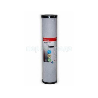 Картриджи Big Blue: 20 дюймов (51х11,5см), 10 дюймов (25х11,5см)  - Картридж угольный с элементом KDF Новая вода NW-BKBC-20BB (кокосовый уголь,+ KDF55) (Big Blue 20) - фото 1