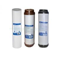Комплект картриджей для проточного фильтра №5 Aquafilter (обезжелезивание)