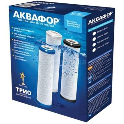 Картриджи для осмоса и проточных фильтров - Комплект картриджей Аквафор РР5-B510-02-07 - фото 1