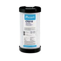 """Картридж из прессованного активированного угля Ecosoft 4,5х10"""" (CHVCB4510ECO) (Big Blue 10)"""