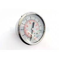 """Манометр радиальный глицериновый Maitec (1/4"""") 0 - 10 бар (63 мм.) нерж. сталь"""