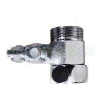 Адаптер + шаровый вентиль AD-4BC-3W/BV-2BC-CH
