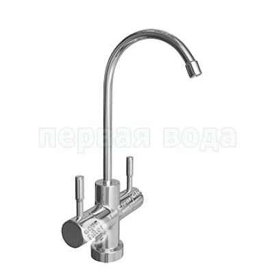 Краны очищенной воды - Кран двойной Aquafilter Modern mini - фото 1