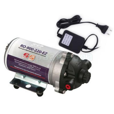 Насос для систем обратного осмоса RO-900-EZ с блоком питания (без пластины и реле давления) - Raifil (Южная Корея)
