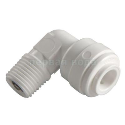 Клапана и ограничители - Обратный клапан угловой C.C.K. 1/8 р.н. х 1/4 тр. - фото 1