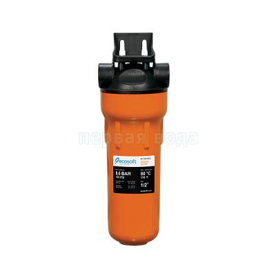 Магистральные фильтры - Фильтр механической очистки для горячей воды Ecosoft 1/2 (FPV12HWECO) - фото 1