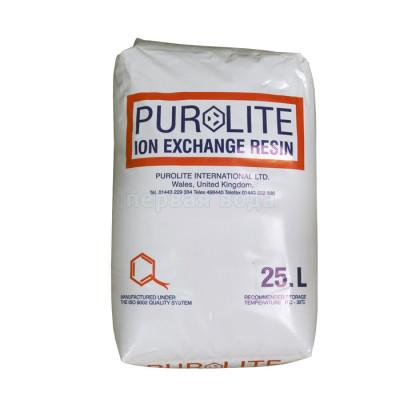 Фильтрующие и расходные загрузки - Умягчающая смола PUROLITE C100E - фото 1