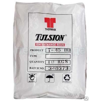 Фильтрующие и расходные загрузки - Ионообменная смола Tulsion T-52 (Индия) - фото 1