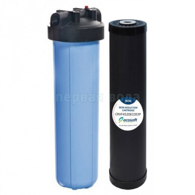 Фильтр Ecosoft Big Blue 20 с картриджем Centaur в комплекте (удаление сероводорода) - Экософт (Украина)