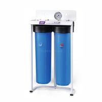 Фильтр Raifil Вig Blue 20 2-х стадийный (PU908B2-BK1-PR-S-G)+обезжелезивающий картридж
