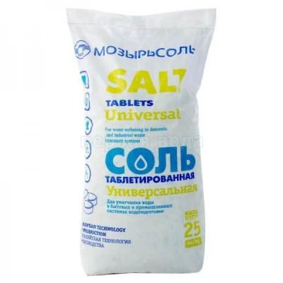 Фильтрующие и расходные загрузки - Соль таблетированная (Мозырьсоль) - фото 1