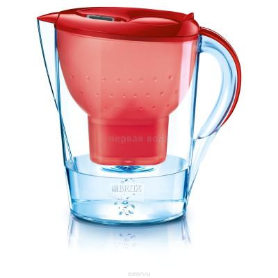 Фильтры-кувшины - Фильтр кувшин Brita Марелла XL (красный) - фото 1